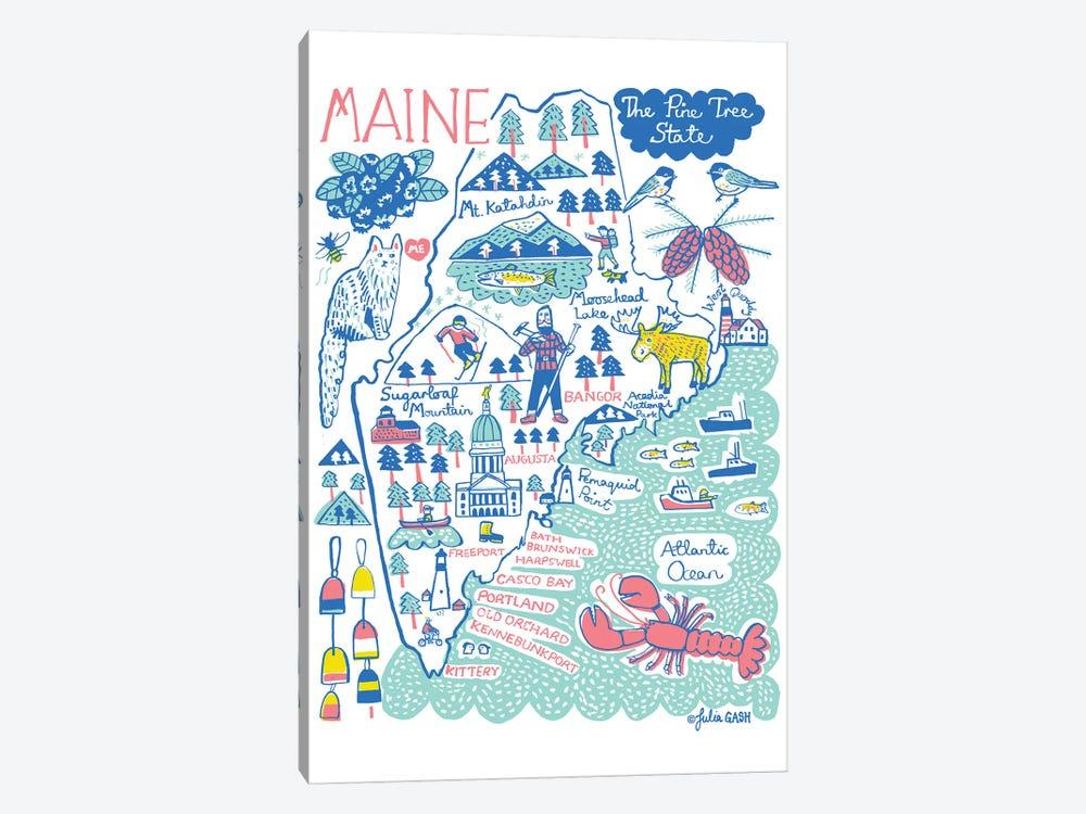 Maine by Julia Gash 1-piece Art Print