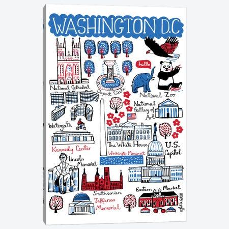 Washington DC Canvas Print #GAS50} by Julia Gash Canvas Artwork