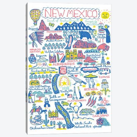 New Mexico Canvas Print #GAS56} by Julia Gash Art Print