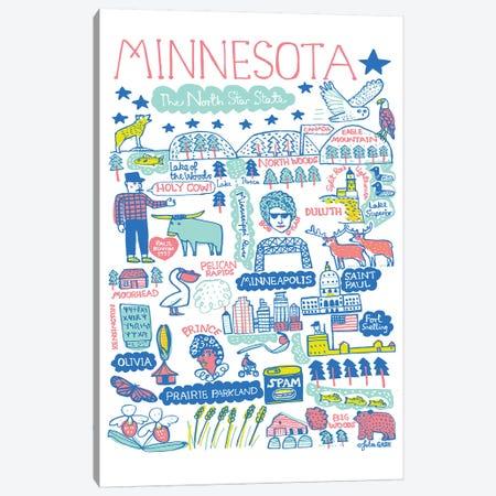 Minnesota Canvas Print #GAS5} by Julia Gash Canvas Artwork