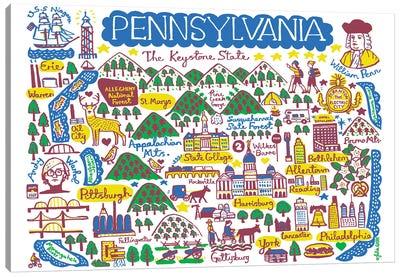 Pennsylvania Canvas Art Print