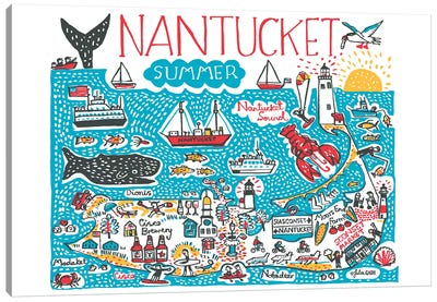 Nantucket Canvas Art Print