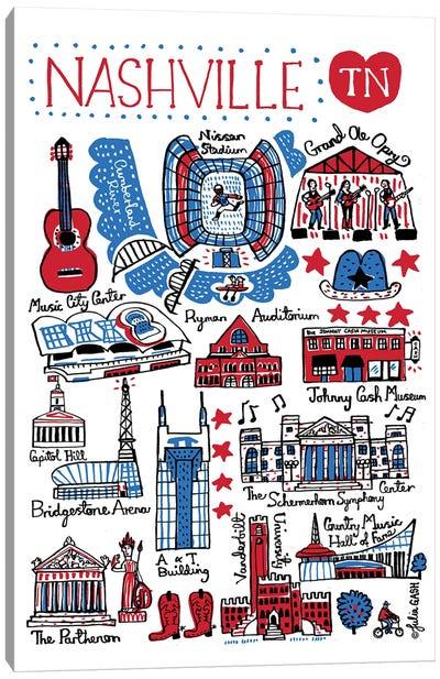 Nashville Canvas Art Print