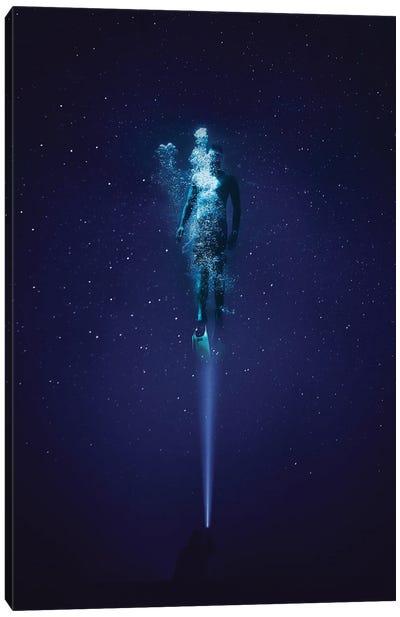 Underwater Stars Canvas Art Print