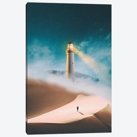To The Lighthouse Canvas Print #GAV19} by Gabriel Avram Canvas Art Print