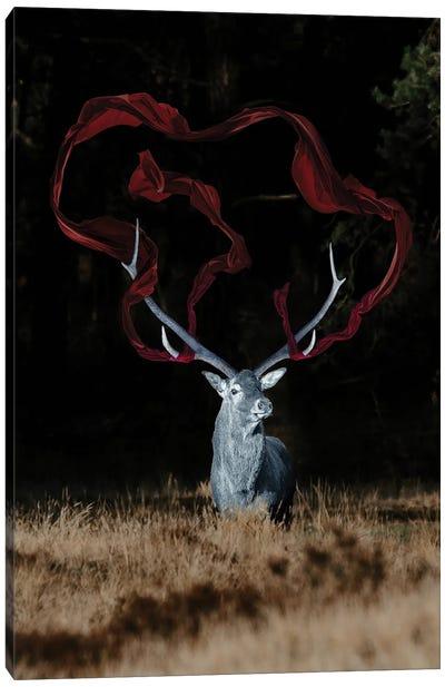 Magic Deer Canvas Art Print