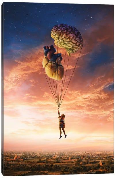 Heart And Brain Canvas Art Print