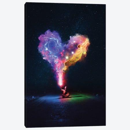 Heart Nebula Canvas Print #GAV35} by Gabriel Avram Canvas Artwork