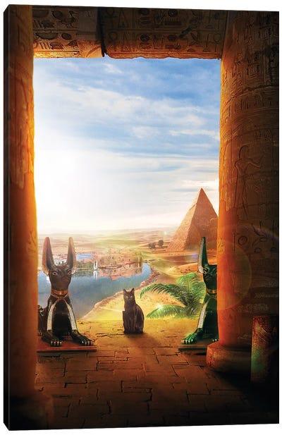 Ancient Egypt Canvas Art Print