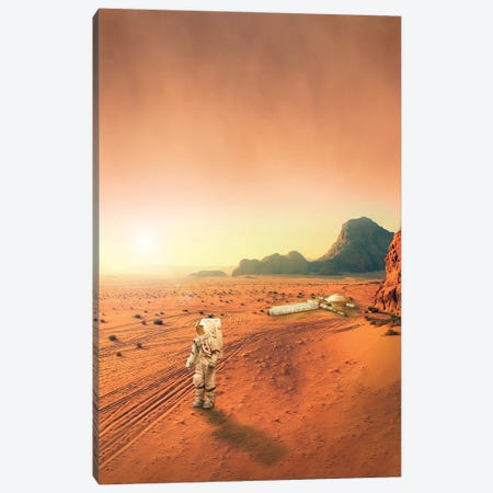 Mars Canvas Print #GAV4} by Gabriel Avram Canvas Print