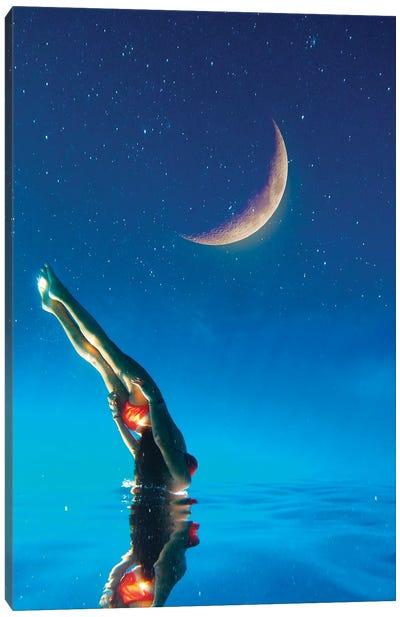 Underwater Sky Canvas Art Print