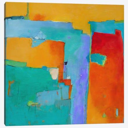 Shades Of A City Canvas Print #GAZ1} by Dorothy Gaziano Canvas Artwork