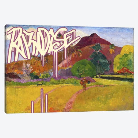 Paradise Canvas Print #GBC12} by 5by5collective Canvas Art