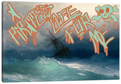 Pirates Life Canvas Print #GBC13