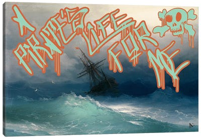 Pirates Life Canvas Art Print