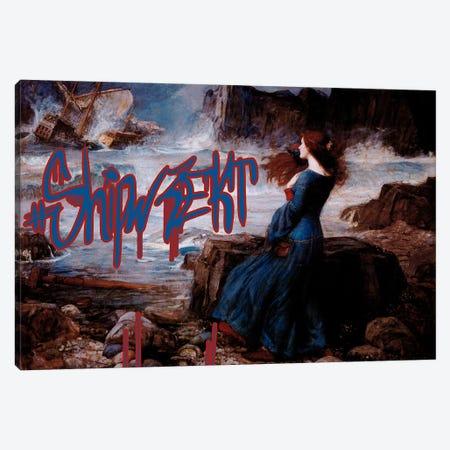 Shipwrekt Canvas Print #GBC17} by 5by5collective Art Print