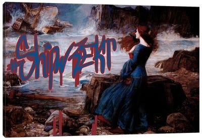 Shipwrekt Canvas Art Print