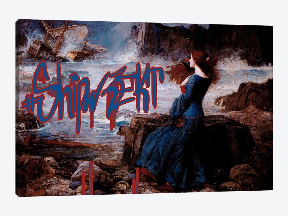 Shipwrekt by 5by5collective 1-piece Art Print