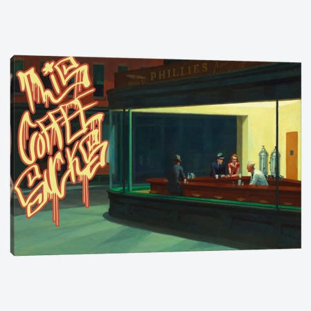 This Coffee Sucks Canvas Print #GBC1} by 5by5collective Canvas Print