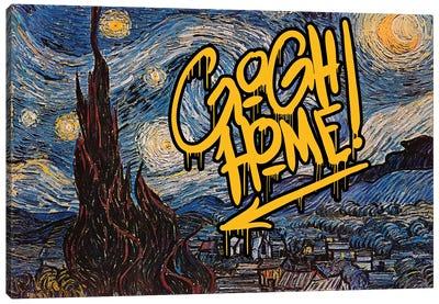 Gogh Home Canvas Art Print