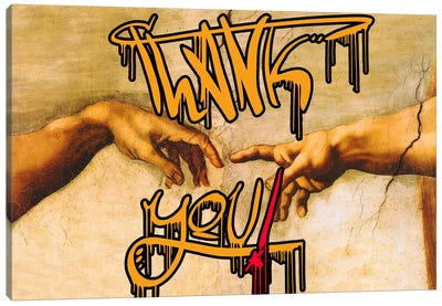 Thank You Canvas Art Print