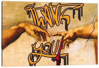 Thank You Canvas Art Print