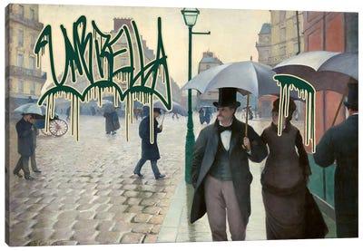 Umbrella Canvas Print #GBC2
