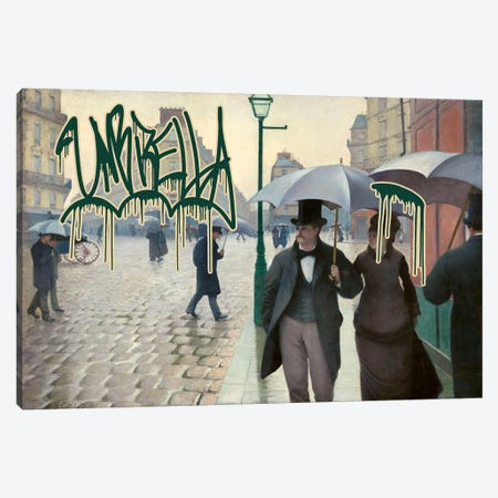 Umbrella Canvas Print #GBC2} by 5by5collective Canvas Art Print