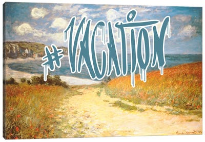 Vacation Canvas Art Print