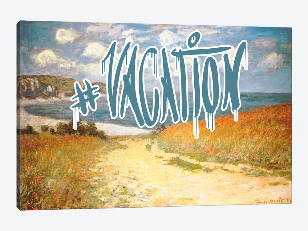Vacation by 5by5collective 1-piece Canvas Artwork