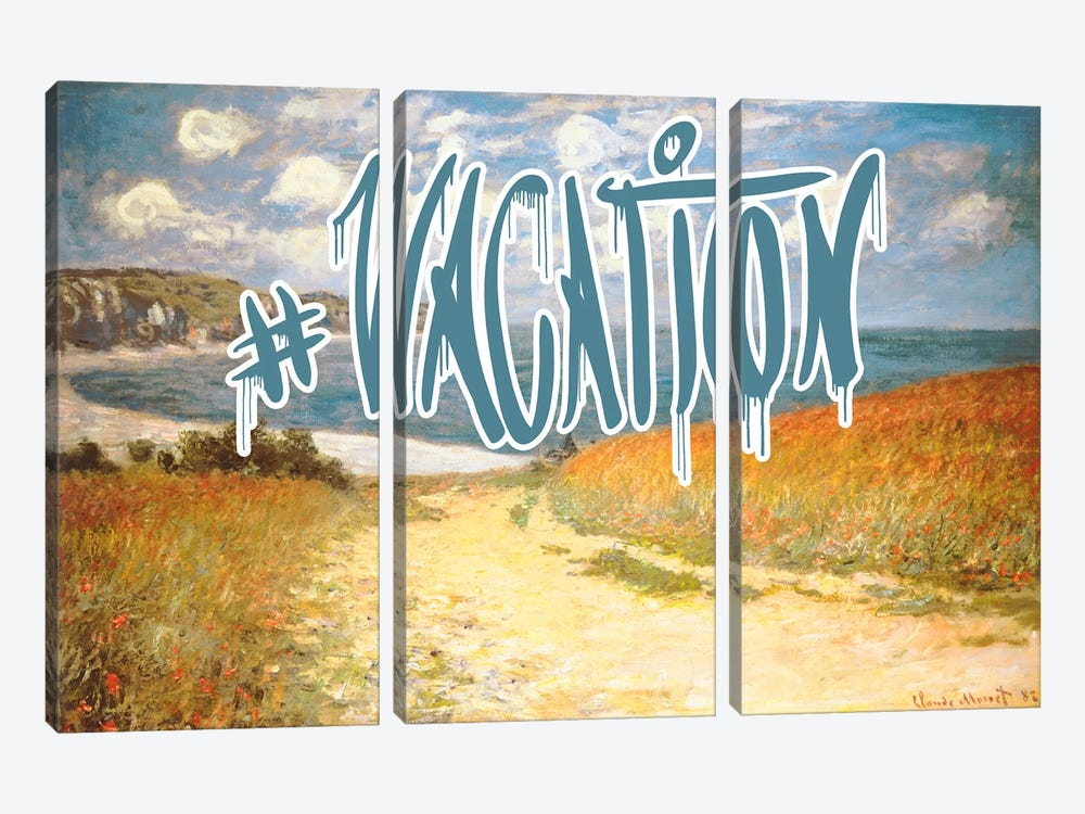 Vacation by 5by5collective 3-piece Canvas Art
