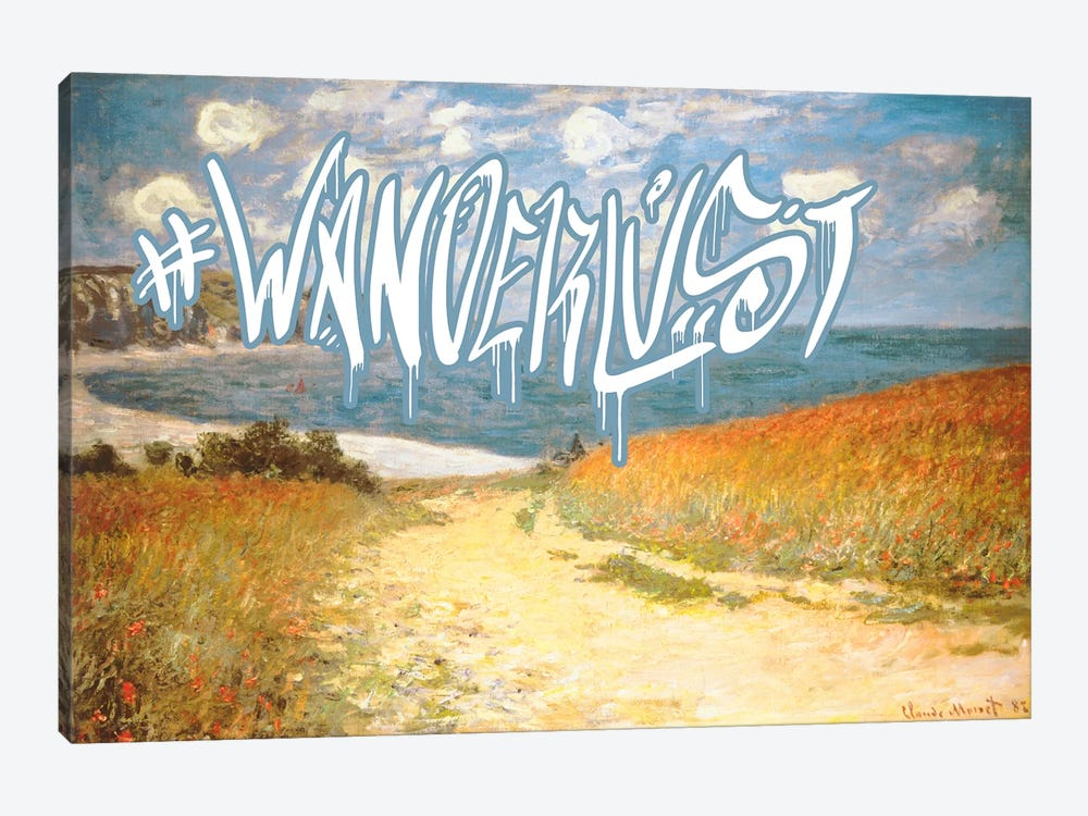 Wanderlust by 5by5collective 1-piece Canvas Art Print
