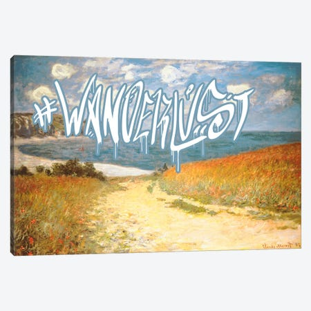Wanderlust Canvas Print #GBC4} by 5by5collective Canvas Wall Art