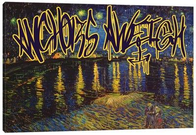 Anchors Aweigh Canvas Art Print
