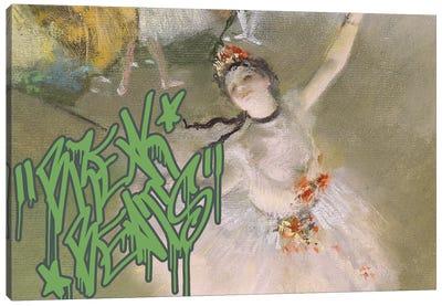 Break Beats Canvas Art Print