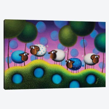 Sweet Dreams Canvas Print #GBE13} by Gabriela Elgaafary Canvas Wall Art