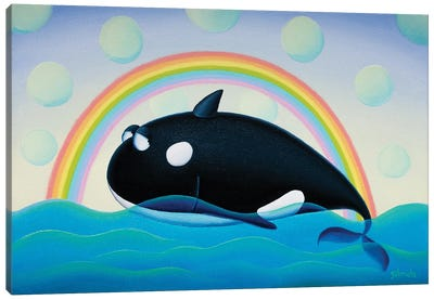 Rainbow Dream Canvas Art Print