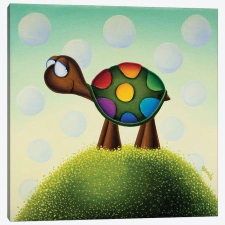 Create your Own Rainbow Canvas Print #GBE15} by Gabriela Elgaafary Art Print
