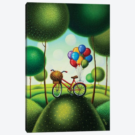 Good Days Are Coming Canvas Print #GBE16} by Gabriela Elgaafary Canvas Print