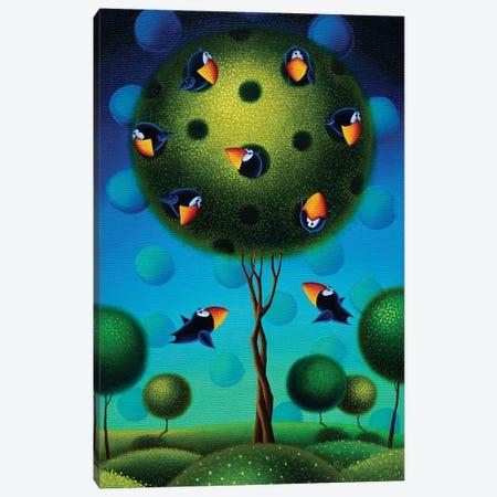 Home Sweet Home Canvas Print #GBE18} by Gabriela Elgaafary Canvas Art