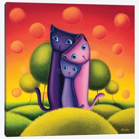 3 In 1 Canvas Print #GBE29} by Gabriela Elgaafary Canvas Art Print