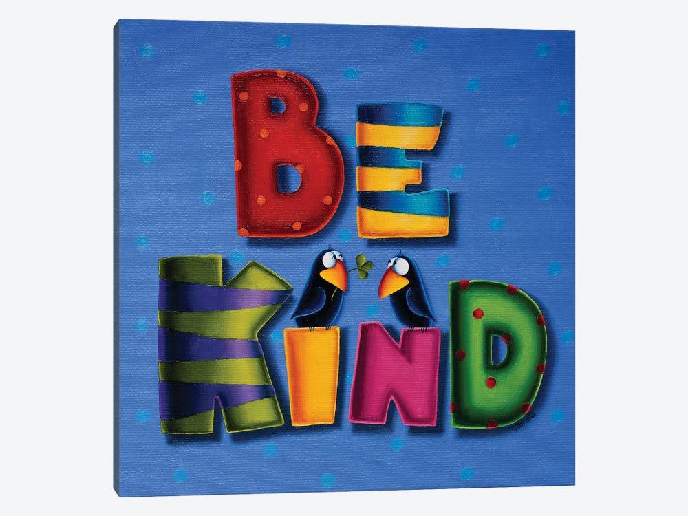 Be Kind by Gabriela Elgaafary 1-piece Art Print