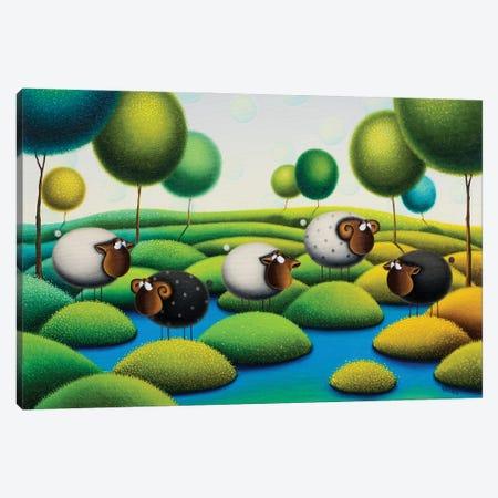 Summertime Canvas Print #GBE33} by Gabriela Elgaafary Canvas Art