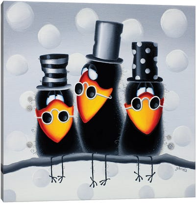The Family Canvas Art Print