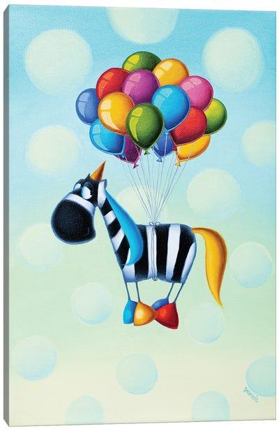 Magic In The Air! Canvas Art Print