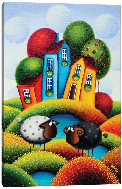 The Colourful Feelings Canvas Art Print