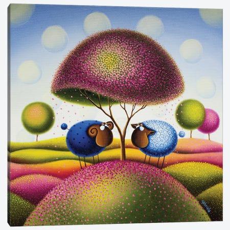 You Make My Heart Blossom Canvas Print #GBE6} by Gabriela Elgaafary Canvas Art