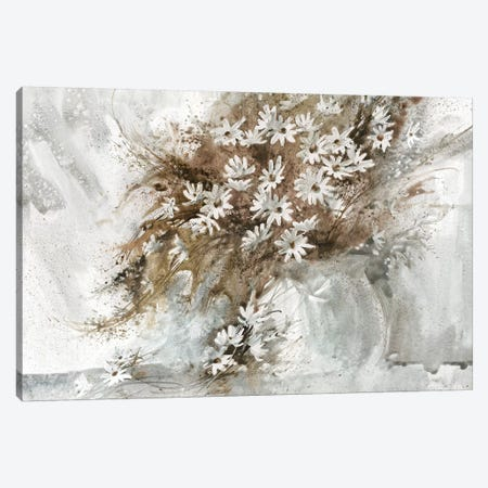 Daisy Arrangement 3-Piece Canvas #GBJ2} by George Bjorkland Canvas Artwork