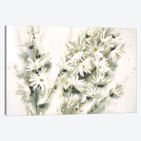 Daisy Spray Canvas Print #GBJ3} by George Bjorkland Canvas Artwork