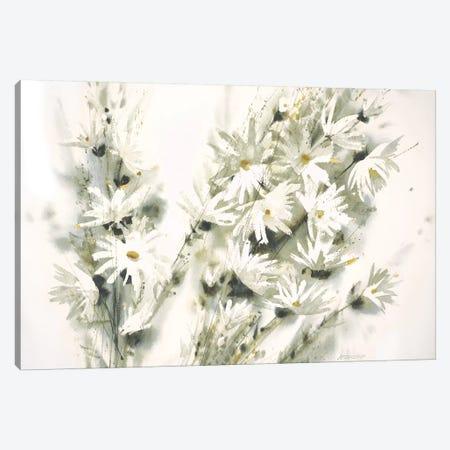Daisy Spray 3-Piece Canvas #GBJ3} by George Bjorkland Canvas Artwork